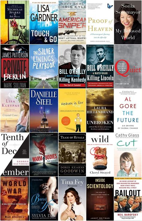 books best sellers 2013 new york times best seller lists fiction and nonfiction