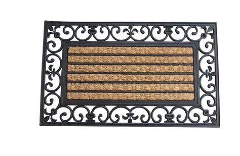 Fleur De Lis Home Decor Wholesale Striped Fleur De Lis Border Mat Wholesale At Koehler Home Decor