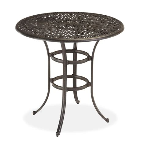 bistro bench home styles floral blossom bistro table by oj commerce