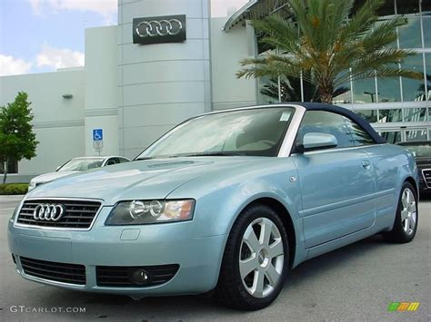 2006 audi a4 colors 2006 aquamarine blue metallic audi a4 1 8t cabriolet