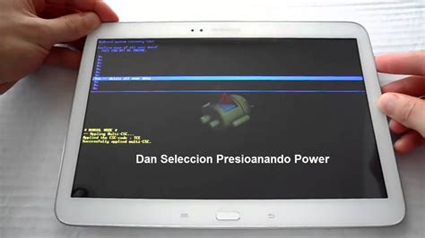 format video samsung galaxy tab 3 hard reset samsung galaxy tab 3 10 1 p5200 p5210 youtube