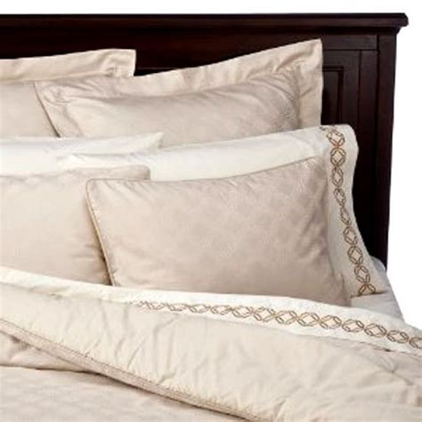 fieldcrest luxury icon king 3 pc duvet comforter cover set