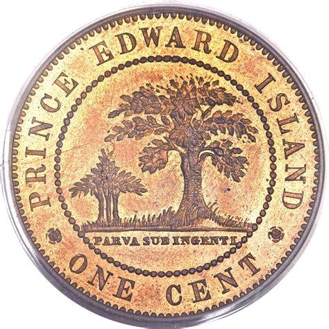 Le Pince 1871 by 1 Cent Provinces Canadiennes Numista