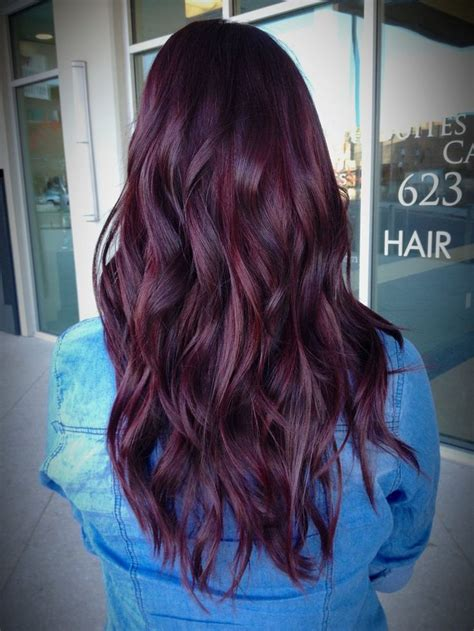 how to cover red hair dark red purple hair color www pixshark com images