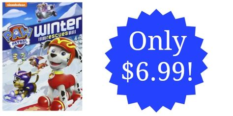 paw patrol winter rescues now on dvd mbsgiftguide giveaway paw patrol winter rescues on dvd only 6 99 reg 14 99