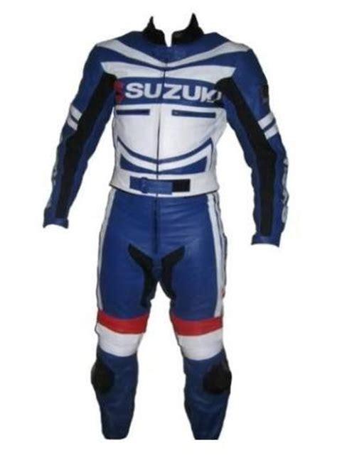 Motorrad Lederkombi F Rben by Suzuki Motorrad Lederkombi Blau Wei 223 E Farbe