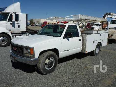 gmc 3500 service trucks utility trucks mechanic trucks