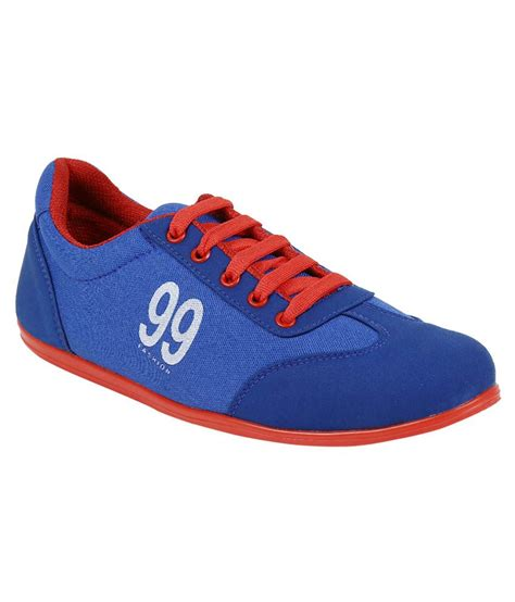 vonc blue canvas shoe shoes price in india buy vonc blue
