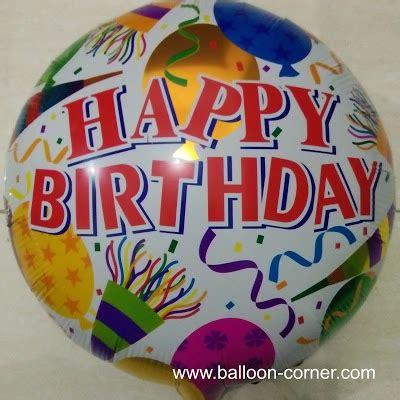 Balon Foil Bulat Hbd Polkadot balon foil bulat motif happy birthday balon bulat foil