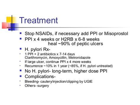 H Pylori Stool Antigen Test Sensitivity by Pud