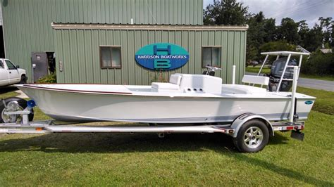 old flats boats outer banks custom boat builders boat repairs boat