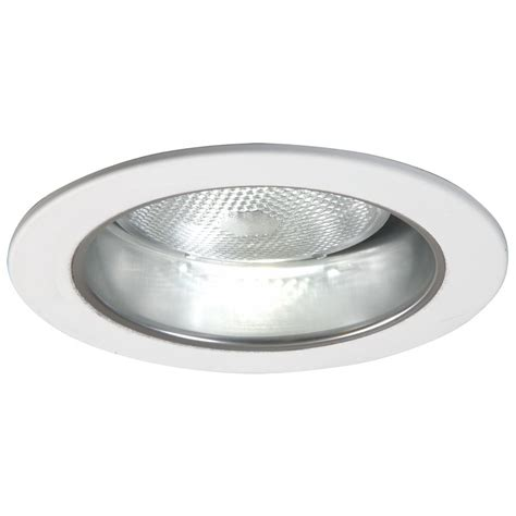 Halo Ceiling Lights Halo 5 In Clear Recessed Ceiling Light Specular Reflector Cone With White Trim 5021sc The