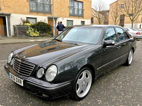 e 430 amg mercedes e430 v8 avantgarde auto 2001 275 bhp amg alloys sat nav top spec in kings cross
