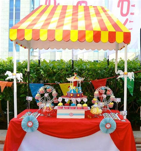 carnival theme ideas decorations kara s ideas carnival themed birthday decor