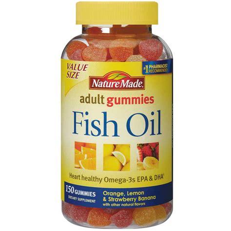 Healthy Omega 3 Gummies nature made fish gummies 57 mg of omega 3s epa dha per serving value