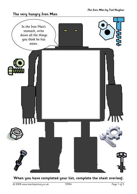 iron man ted hughes ks literacy literacy