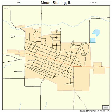 Sterling Il mount sterling illinois map 1751154