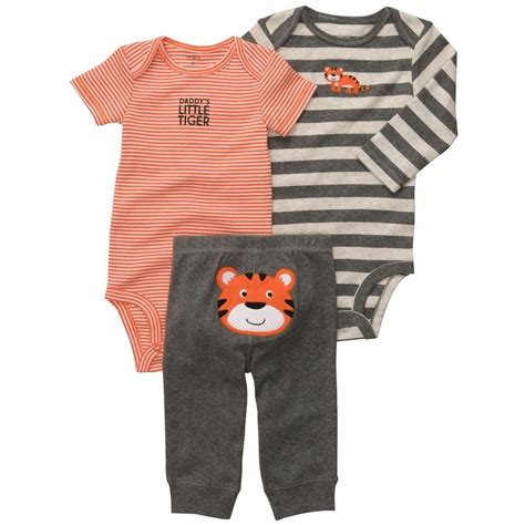 Carters 3pcs by Promotions 3pcs 2016 S Bebe Boys Bodysuitstiger