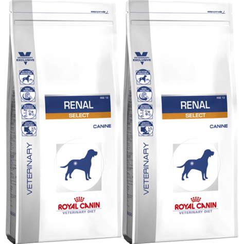 makanan anjing royal canin renal canine 2kg royal canin veterinary renal select food from 163 16 67