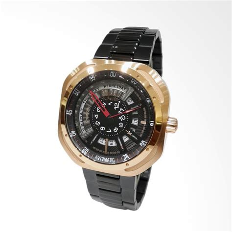 Alexandre Christie 2489lh Gold jual alexandre christie automatic jam tangan pria gold black 3035mabbrba harga