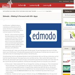 edmodo education first top apps pearltrees