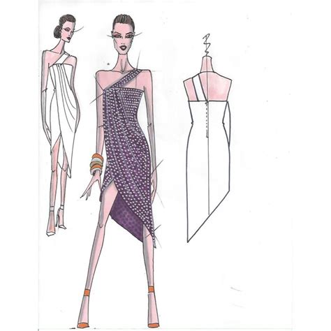 fashion illustration draping dress 1000 images about fashion sketches on fashion