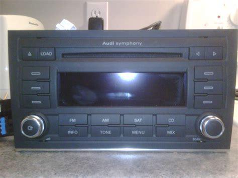 Audi A4 Radio by For Sale Audi Symphony 2 Mp3 Radio