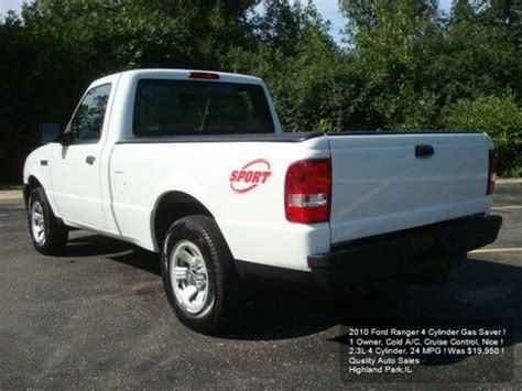 how to fix cars 2010 ford ranger parking system find used 2010 ford ranger 4 cylinder 1 owner auto cruise a c gas saver bedliner nice in