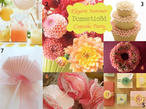 cupcake themed decorations domestic8d imbm summer cupcake