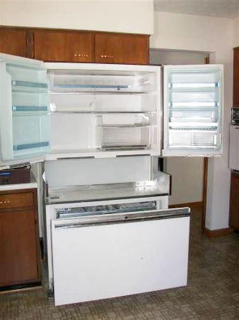 craigslist kitchen appliances the 1964 ge americana refrigerator freezer retro renovation