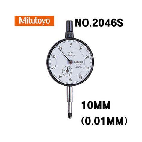 Indicator Mitutoyo 10mm Terlaris mitutoyo indicator 2046s 0 01mm x 10mm test indicator japan ebay