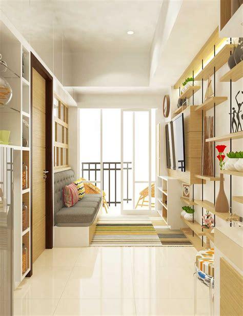 design interior apartemen 36m2 inspirasi desain interior ruang tamu keren untuk apartemen