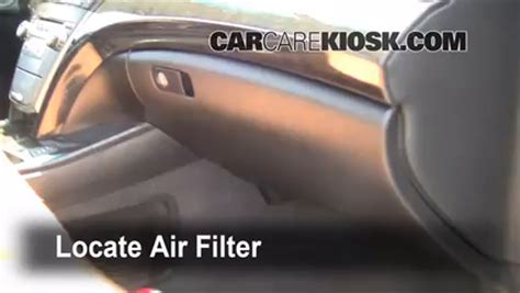 acura mdx air filter replacement 2008 mdx acura air conditioner not working autos post