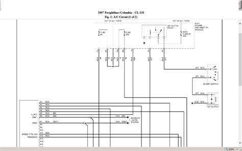 2009 freightliner columbia wiring schematics columbia