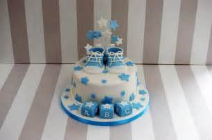 boy s baby shower cake with cupcakes bakealous
