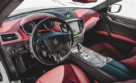 new maserati interior car and driver