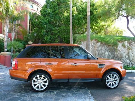 orange range rover buy used gorgeous limited edition vesuvius orange range