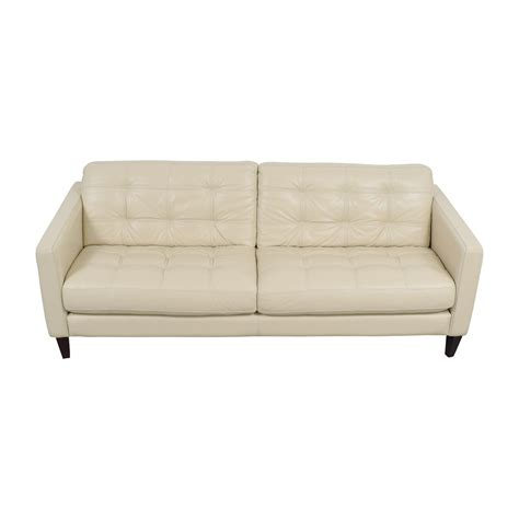 macys leather sofas on sale 69 macy s macy s tufted gray leather sofa sofas