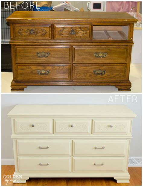 how to give furniture a modern look with chalk paint