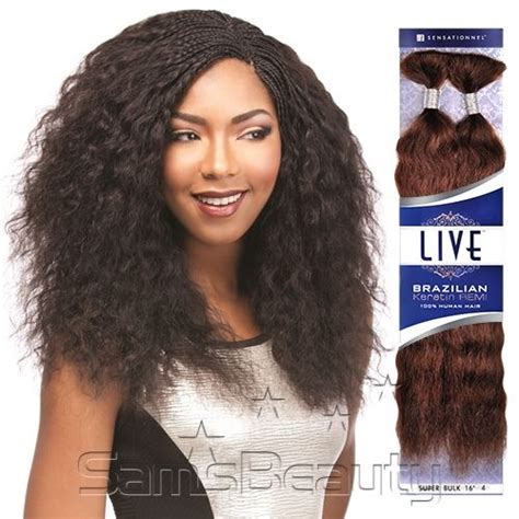 sensationnel remy human hair braids live brazilian keratin remi wet brazilian keratin remy human hair and keratins on pinterest