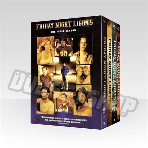 friday lights series dvd friday lights seasons 1 4 dvd boxset