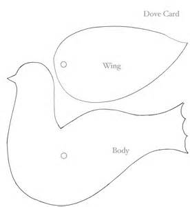 Dove Template by The Gallery For Gt Peace Dove Template Printable