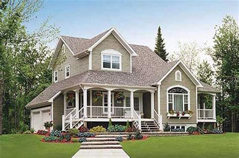 two story house plans with front porch country house plans home design 3540