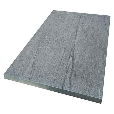 Feinsteinzeug Platten 2 Cm by Terrassenplatte Cera 3 0 Blaugrau 40 X 60 X 2 Cm