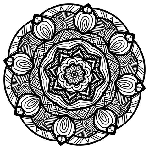 imagenes en blanco y negro de mandalas ilustraci 243 n gratis mandala l 237 nea arte blanco y negro