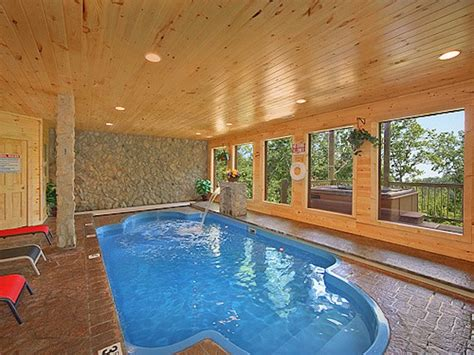 Gatlinburg Tn Cabins With Pools by 7 Gatlinburg Cabins With Indoor Pools
