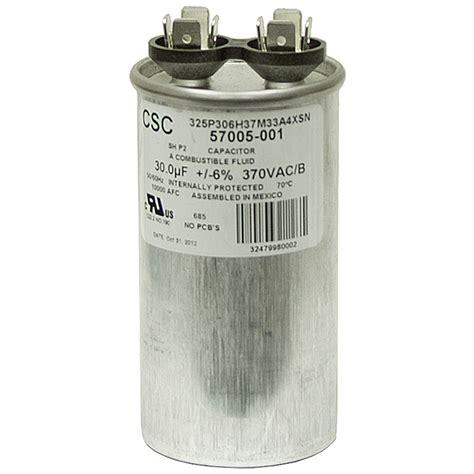 mfd run capacitor 30 mfd 370 vac run capacitor csc 325p306h37m33a4xsn motor run capacitors capacitors