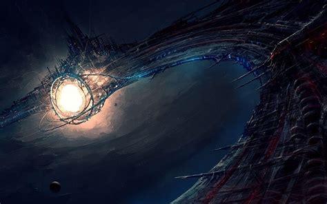 imagenes en 3d futuristas pintura de la nave espacial futurista fondos de pantalla