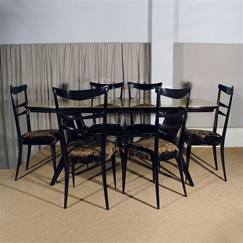 Italian Dining Room Sets by Italian Dining Room Set At 1stdibs