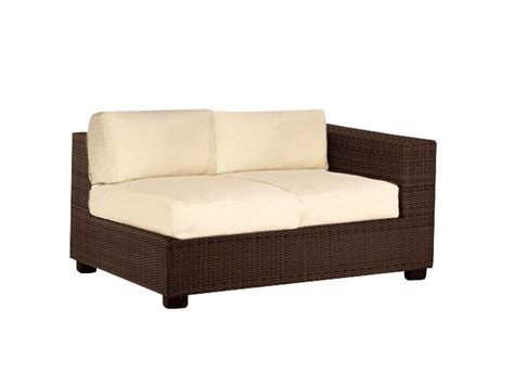 replacement cushions for sectional whitecraft montecito rafacing loveseat sectional